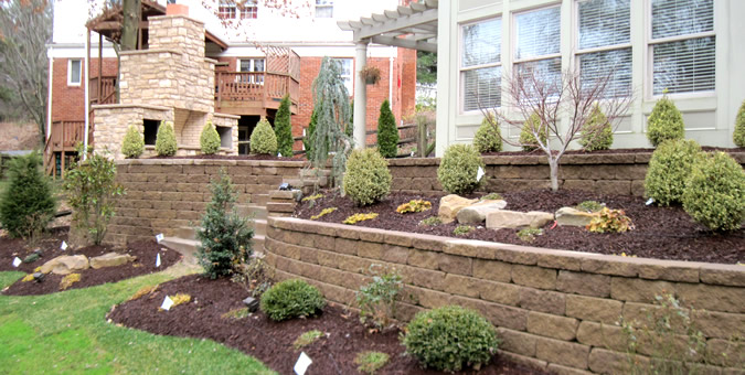 Retaining Walls - Cerminara Excavating & Construction Inc